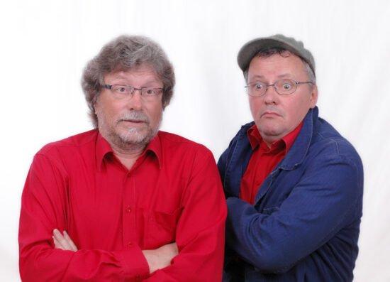 Bad Oeynhausen für Anfänger: Harald Meves und Dietrich Stuke in der Wandelhalle