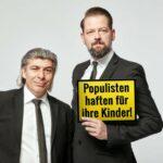 """Onkel Fisch_c_Rainer Holz """"Populisten haften für ihre Kinder"""" Kleinkunstbühne Piazza Vellmar"""