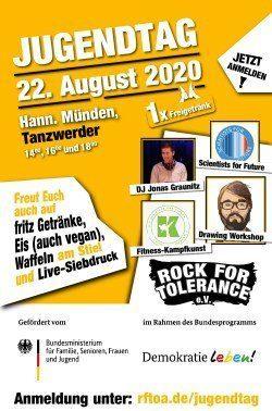 Erster Rock for Tolerance Jugendtag in Hann. Münden