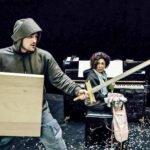 Auch eine Ritter-Oper gibt es beim Musik-Theater in Paderborn: Ritter Odilo kämpft gegen Langeweile, ein großer Spaß mit einfachsten Mitteln | (c) Marc Lontzek