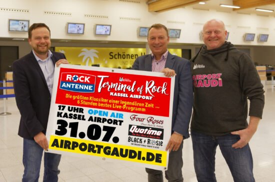 Terminal of Rock am Kassel Airport findet 2021 als Open Air-Festival statt!