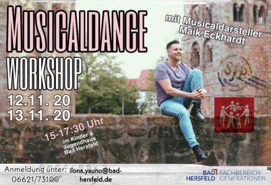 Musical-Workshop im Jugendhaus Bad Hersfeld am 12. und 13. November!