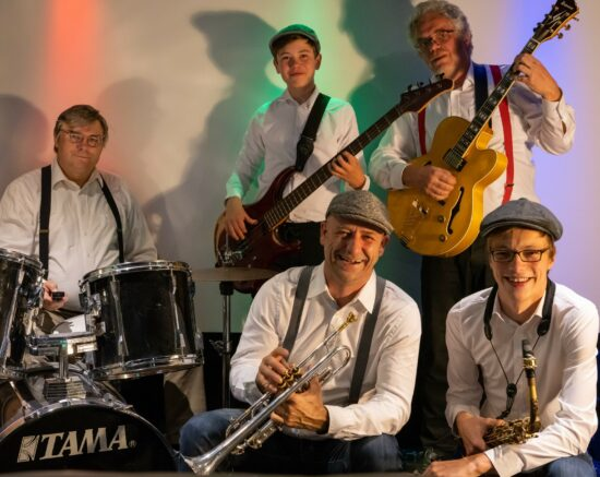 It's a jazz thing: Das Smokin' Sound Quintett im Sandershaus Kassel!