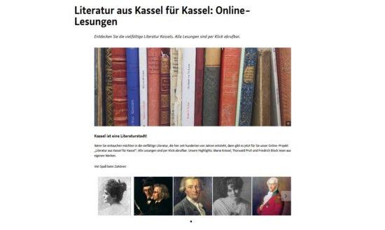 Stadtbibliothek Kassel: 43 Texte von Kasseler Autor*innen ab sofort online!
