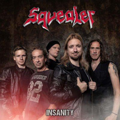 CD Cover Squealer - Insanity (Pride & Joy)