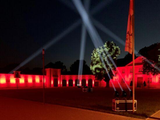 Parkillumination - Schlosspark und Lippesee - Night of Light 2020-1