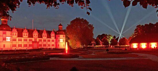 Parkillumination – Schlosspark und Lippesee Gesellschaft lädt zum Winterspaziergang im Neuhäuser Schlosspark