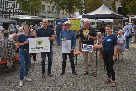»Warburg isst«: Sponsoring begleitet und ermöglicht Feierabendmärkte in Warburg auch 2021!