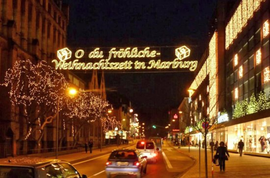 Weihnachten Stadtmarketing Marburg   (c) Georg Kronenberg