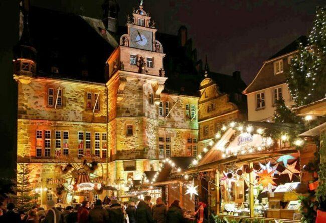 Weihnachtsmarkt Marburg | (c) Weihnachten Stadtmarketing, Daniela Maurer