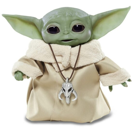 Hasbro Star Wars The Mandalorian Das Kind Baby Yoda Animatronische Figur 12433534