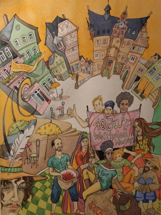 40 Jahre Weltladen Marburg: Faire Jubiläumsprodukte