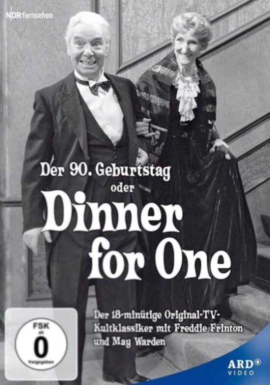 Alle Jahre wieder zu Silvester: Dinner for One oder Der 90. Geburtstag: Deutschlands beliebteste Silvesterunterhaltung | DVD (c) ARD Video