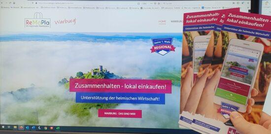 ReMaPla in Warburg: Auch im Lockdown sichere vor Ort Angebote der lokalen Kaufleute nutzen!