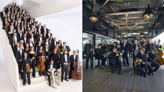 Große Stars und lokale Helden - hr-Sinfonieorchester und hr-Bigband: Live-Stream-Konzerte im Januar
