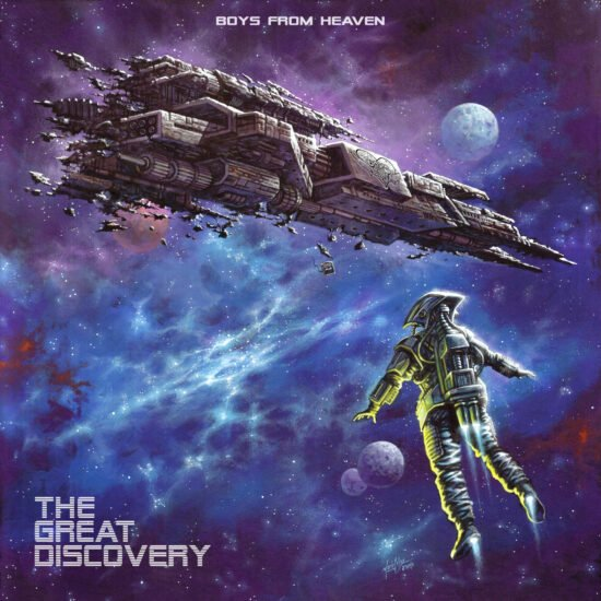 CD Cover Boys From Heaven - The Great Discovery (Target Records)