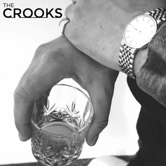 CD Cover The Crooks - In Time (Golden Robot Records)