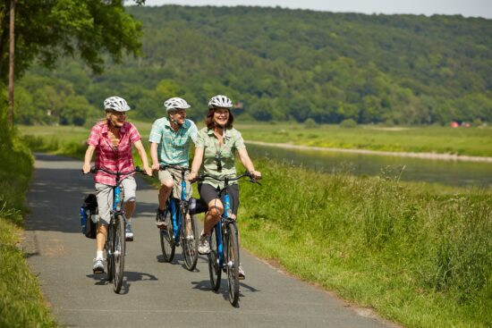 Radtour auf dem Weser-Radweg? So kannst Du Dir ein Angebot sichern...