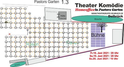 So sieht der Platzplan für das Open-Air-Theater in Delbrück aus   (c) Theatergruppe Delbrück