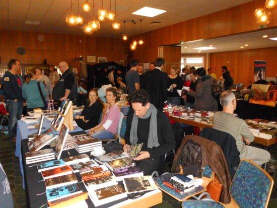 Alle Fantasy-, Horror- und Science-Fiction-Literatur-Fans aufgepasst! Die Marburg Convention 2021 steht in den Startlöchern. Am 24. April soll es losgehen. Aufgrund der aktuellen Corona-Pandemie wird die Con in virtueller Form stattfinden.   (c) Anke Brandt