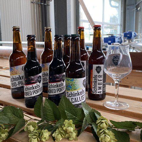 Diese Biersorten sind im <strong>Probierpaket</strong> für das <strong>Biertasting</strong> enthalten. Dazu gibt es auch ein Sensorik-Glas und eine Kleinigkeit zu essen. | (c) Schinkels Brauerei