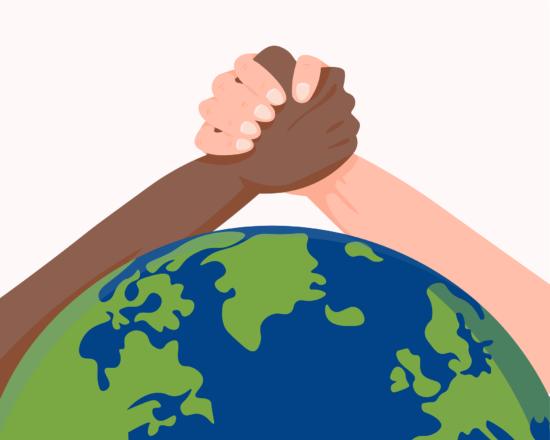Jeder Mensch ist gleich! Auch die Aktion »Pink gegen Rassismus« hat es sich zum Ziel gemacht, mithilfe von Live-Streams und Workshops gegen Fremdenfeindlichkeit im Sport anzukämpfen. | (c) Hatice EROL Pixabay