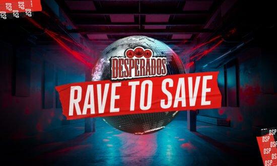 Mit der Fundraising-Dance-App »Rave to Save« möchte Desperados Clubs unterstützen, die von der Pandemie betroffen sind. | (c) Foto: Desperados