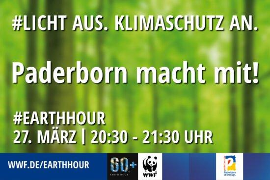 Am 27. März, von 20.30 bis 21.30 Uhr heißt es wieder weltweit »Licht aus für den Klimaschutz!« und auch die Stadt Paderborn ist mit dem historischen Rathaus und dem Schloss in Schloß Neuhaus dabei.   (c) Foto: Stadt Paderborn