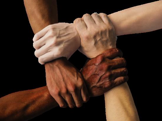 Nur gemeinsam sind wir stark! Am 21. März ist der »Internationale Tag gegen Rassismus«. Anlässlich hierzu soll mit der Aktion »Pink gegen Rassismus« weltweit den Menschen gedacht werden, die aufgrund ihrer Herkunft von Ausgrenzung, Benachteiligung und Gewalt betroffen sind. | (c) truthseeker08 auf Pixabay