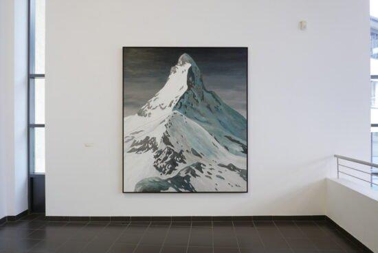 Die Ausstellung »Apokryphe Landschaften« von Sven Drühl wird zwei Wochen nach dem Lockdown, bis zum 29. April, zu sehen sein. - (c) Sven Drühl
