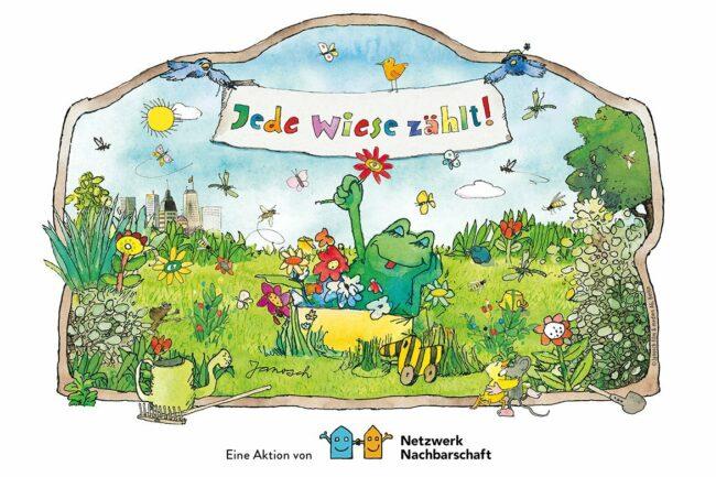 10 Nachbarschaften haben die Möglichkeit, mit ihrer individuellen Idee einer Grünanlage deutschlandweit zu überzeugen: Das Projekt »Jede Wiese zählt!« startet auch 2021.
