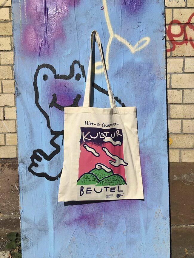 Kulturzentrum Schlachthof Kassel: Die Hier-im-Quartier-Kulturbeutel werden ab sofort kostenlos verteilt!