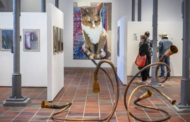 Das Kunstmuseum im Marstall ist jetzt wieder geöffnet. Momentan wird dort die Ausstellung »Expedition« gezeigt.   (c) Foto: Stadt Paderborn