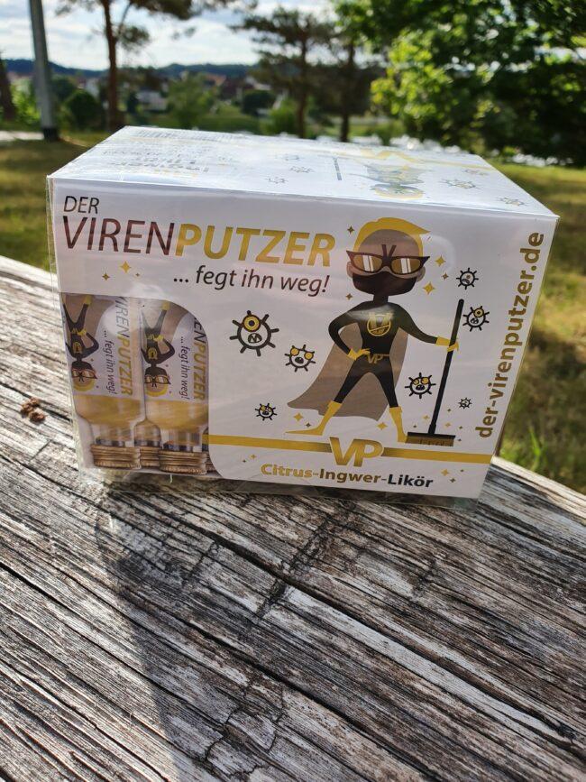 Auch als Kurze erhältlich: Der Virenputzer für die schnelle Portion Stimmung. | (c) Gasthaus Zur Alm