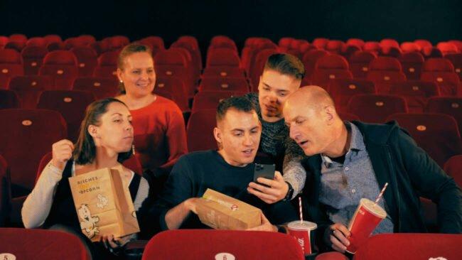 Das Cineamo-Team (c) Aaron Farnschläder
