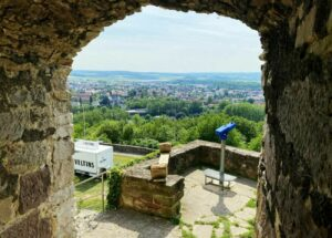 Kugelsburg Volkmarsen - Blick von der Burg - IMG_0886