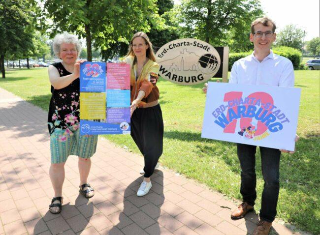 5 Tage Festival-Stimmung, um die Warburger:innen für Nachhaltigkeit zu sensibilisieren: Die Erd-Charta hat sich ein vielfältiges Programm ausgedacht. | (c) Erd Charta Warburg