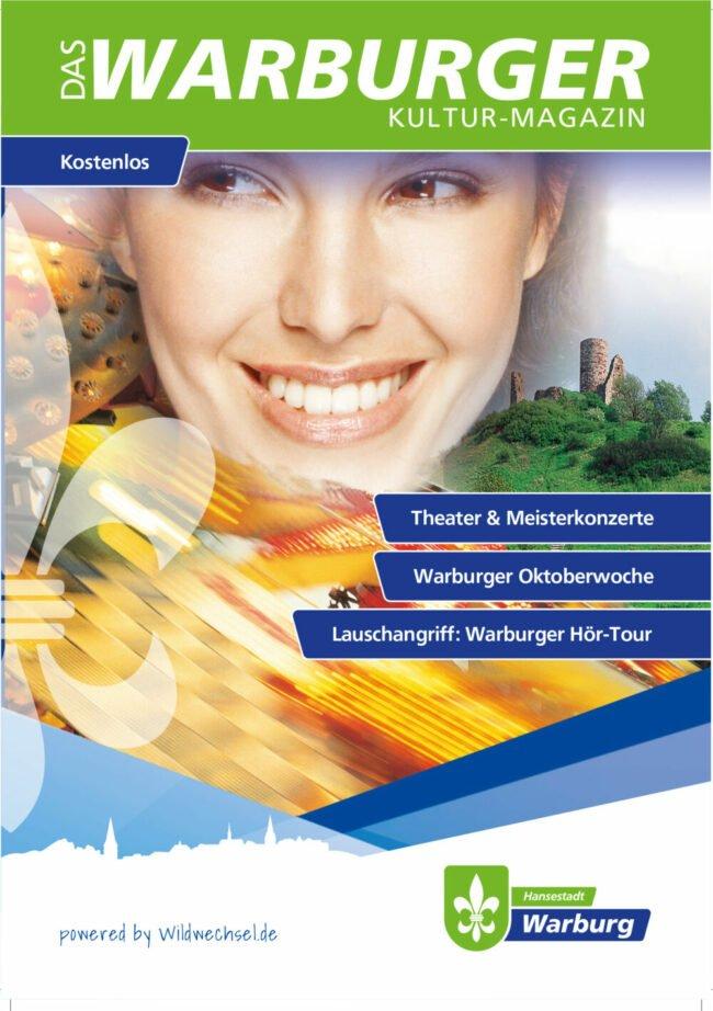 Das Warburger Kulturmagazin - Titelcover