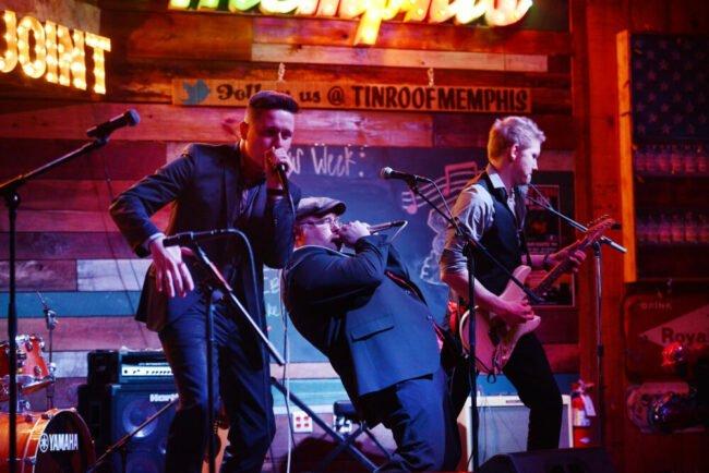 Chris Kramer & Beatbox'n'Blues: Drei Musiker aus drei verschiedenen Genres, zusammen eine Band. (c) Raphael Tenschert