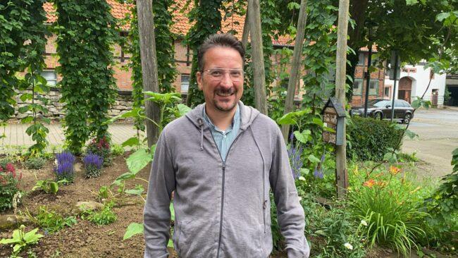 Jan-Henrik Baum von der Bürgerbrauzunft Nieheim e.V.