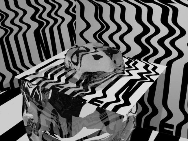 Latenzen - Ausstellung der Graduiertenschule für Bewegtbild über das Senden und Empfangen, Gedächtnisverlust und virtuelle Erinnerungsarbeit, intergenerationale Traumaweitergabe und die physischen Räume der digitalen Abstraktion, hyper-überwachte Unterhaltungsumgebungen und virtuelle Kontaktaufnahmen. | (c) Laura Därr