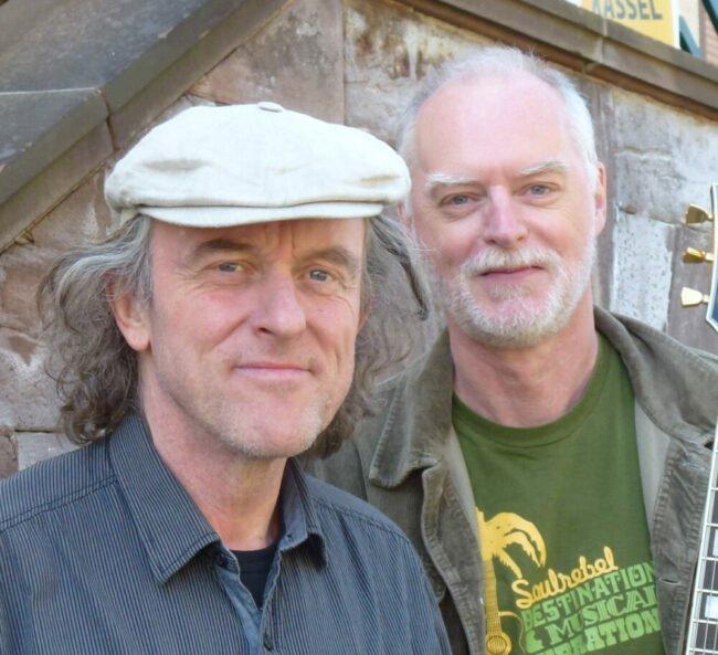 Das Harvest Moon Duo sorgt in Gudensberg für musikalische Unterhaltung!   (c)