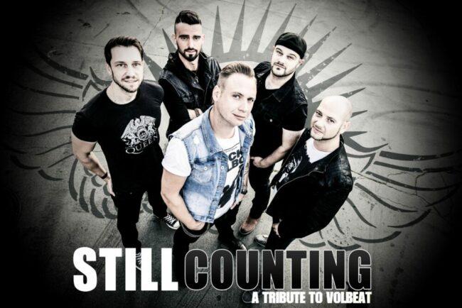 """Die Tribute Band """"Still Counting"""" begeistert Metalfans mit Original Equipment.   (c) Schlossfestspiele Biedenkopf"""