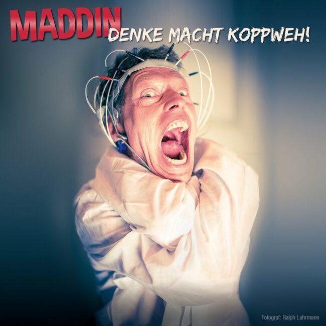 """Maddin Schneider zieht zurzeit mit seinem Programm """"Denke macht Koppweh"""" durchs Land.   (c) Ralph Lahrmann"""