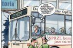 Abgefahren! - Ausstellung von NVV und Caricatura zur Mobilität   (c) NVV