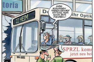 Abgefahren! - Ausstellung von NVV und Caricatura zur Mobilität | (c) NVV