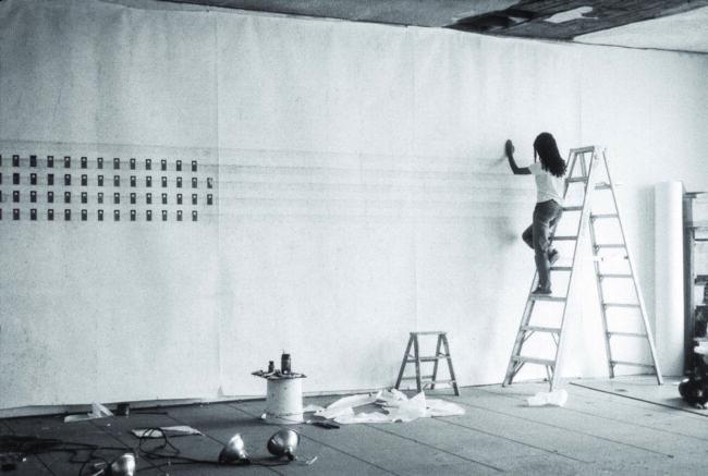 Toba Khedoori   »Untitled (doors)«   Los Angeles 1995    (c) Rachel Khedoori