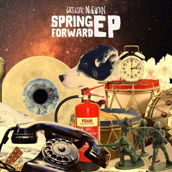 »Spring Forward EP« besteht aus vier Liedern von Gregor McEwan, die sich um den Frühling drehen.