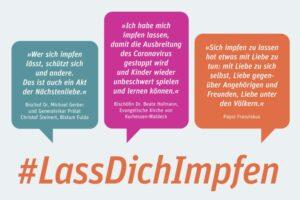 Pfarrei Sankt Elisabeth Kassel wirbt fürs Impfen - Kassel Leitschuh - 02