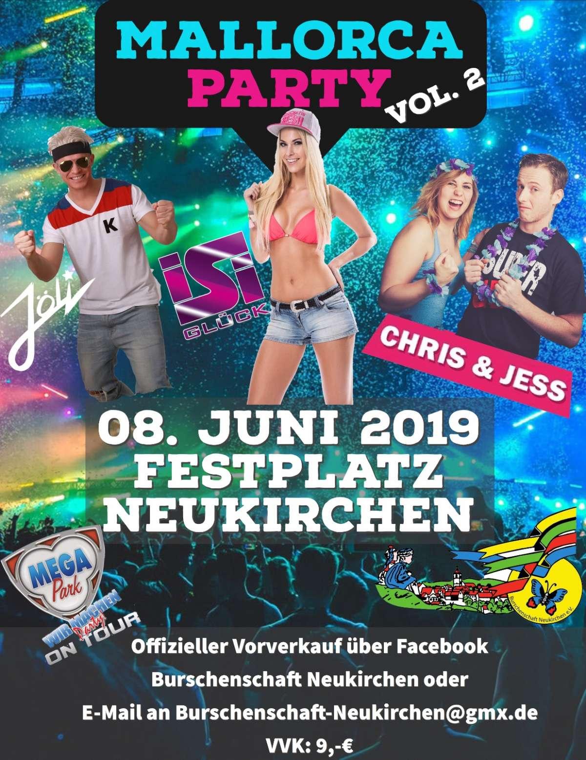 Veranstaltungen & Events am »Samstag, 08. Juni 2019« in deiner Nähe...
